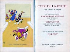 Extrait de (AUT) Dubout - Code de la route - texte officiel