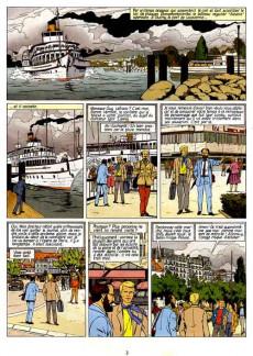 Extrait de Lefranc - La Collection (Hachette) -11- La cible