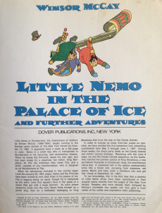 Extrait de Little Nemo in Slumberland (Divers) - Little Nemo in the Palace of Ice and further adventures by Winsor McKay
