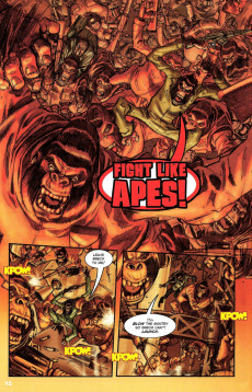 Extrait de Revolution on the Planet of the Apes -6- Explosive Final Issue!