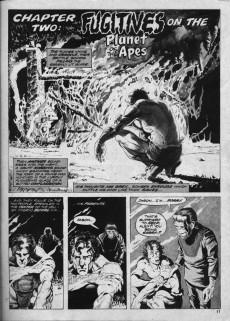 Extrait de Planet of the Apes (Marvel comics - 1974) -1- Planet of the Apes
