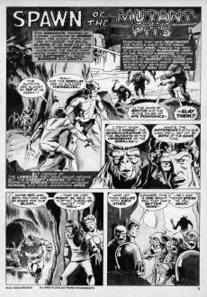 Extrait de Planet of the Apes (Marvel comics - 1974) -3- (sans titre)