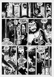 Extrait de Planet of the Apes (Marvel comics - 1974) -4- (sans titre)