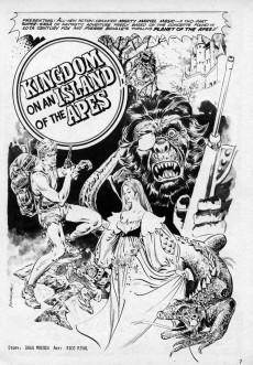 Extrait de Planet of the Apes (Marvel comics - 1974) -9- Kingdom of the Apes!