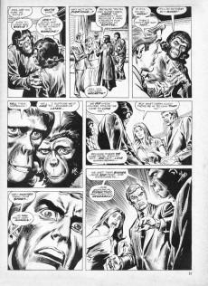Extrait de Planet of the Apes (Marvel comics - 1974) -14- Terror on the Planet of the Apes