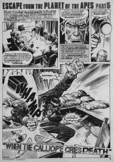 Extrait de Planet of the Apes (Marvel comics - 1974) -16- Death hunt...