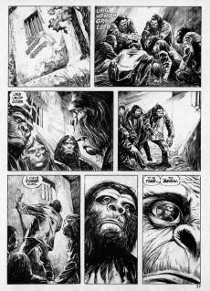 Extrait de Planet of the Apes (Marvel comics - 1974) -19- Demons of the Psychedrome