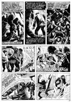 Extrait de Planet of the Apes (Marvel comics - 1974) -21- Conquest of Planet of the Apes