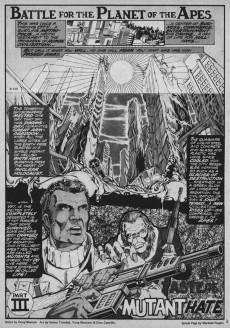 Extrait de Planet of the Apes (Marvel comics - 1974) -25- A taste of mutant hate!