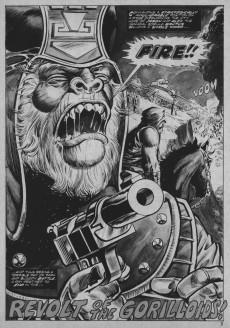 Extrait de Planet of the Apes (Marvel comics - 1974) -28- Battle for the Planet of the Apes