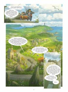 Extrait de Les mondes cachés -3- Le maître des craies