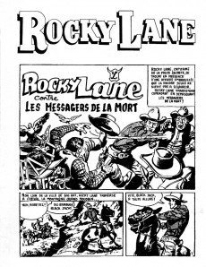 Extrait de Rocky Lane -1- Les messagers de la mort