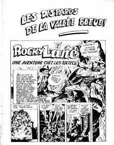 Extrait de Rocky Lane -5- Les disparus de la Vallée Bleue