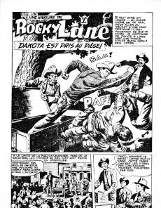 Extrait de Rocky Lane -9- Dakota est pris au piège