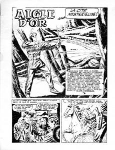 Extrait de Rocky Lane -12- Aigle d'or dans la cité mystérieuse !