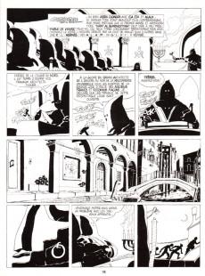 Extrait de Corto Maltese -7a1991- Fable de Venise