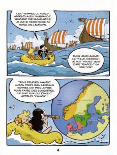 Extrait de Le fil de l'Histoire (raconté par Ariane & Nino) -a2019- Les vikings (marchands et pirates)