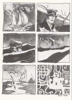 Extrait de Corto Maltese -10a1994- Mû