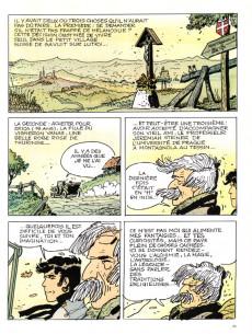 Extrait de Corto Maltese (Couleur Format Normal) -2a1991- Les Helvétiques