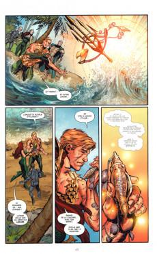 Extrait de Aquaman (DC Renaissance) -INT02- Intégrale - Tome 2