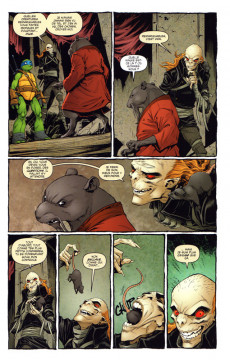 Extrait de Teenage Mutant Ninja Turtles - Les Tortues Ninja (HiComics) -5- Les fous, les monstres et les marginaux