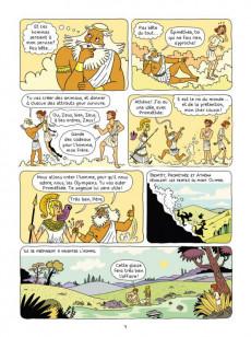 Extrait de La mythologie en BD -11- Prométhée