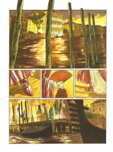 Extrait de Les suites Vénitiennes -7- Crépuscule sur la lagune