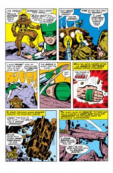 Extrait de Amazing Adventures Vol.2 (Marvel - 1970) -1- Beware.. the Inhumans! / The Sting of the Black Widow!