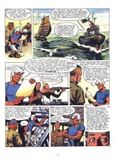 Extrait de Bernard Prince -15a1994- Orage sur le cormoran