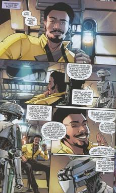 Extrait de Star Wars - Lando -2- Quitte ou double