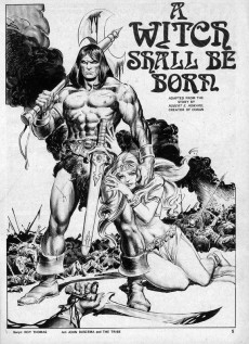Extrait de Savage Sword of Conan The Barbarian (The) (1974) -5- Tree of Death