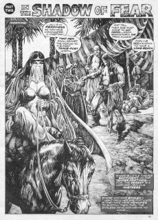 Extrait de Savage Sword of Conan The Barbarian (The) (1974) -7- Citadel at the Center of Time
