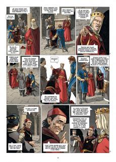 Extrait de Les reines de sang - Jeanne, la mâle reine -2- Volume 2
