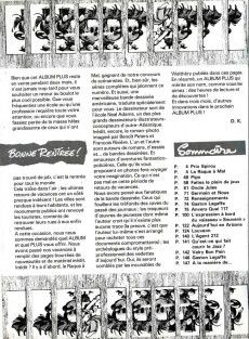 Extrait de Spirou (Almanachs & Album+) -8- Spirou Album+ n°3