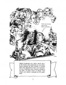 Extrait de Classiques illustrés (Éditions Héritage) -4- Dr Jekyll et Mr. Hyde