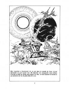 Extrait de Classiques illustrés (Éditions Héritage) -5- Explorations dans le temps