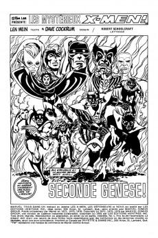 Extrait de X-Men (Éditions Héritage) -1- Seconde genèse!