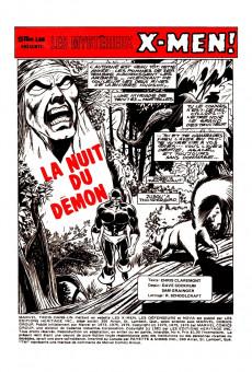 Extrait de X-Men (Éditions Héritage) -4- La nuit du démon