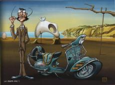 Extrait de Vieux tacots (motos) -2- La Vespa - « La Guêpe » !