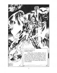 Extrait de Classiques illustrés (Éditions Héritage) -6- Dracula