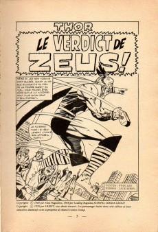 Extrait de Thor (1e Série - Arédit Flash) -4- Le verdict de Zeus !