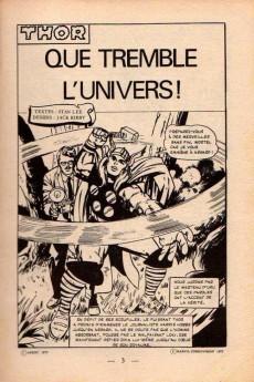 Extrait de Thor (1e Série - Arédit Flash) -2- Que tremble l'Univers !