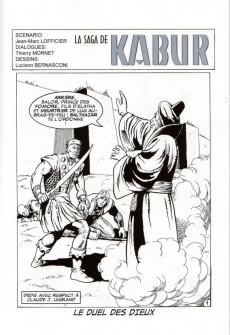 Extrait de Kabur (Hexagon Comics) -5- Le duel des dieux - La vengeance de Shivar