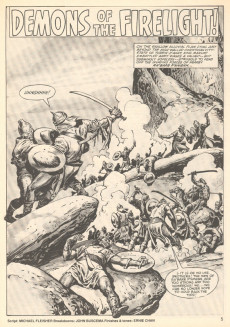 Extrait de Savage Sword of Conan The Barbarian (The) (1974) -78- Demons of the Firelight!