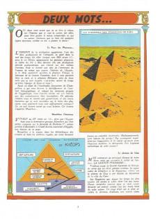 Extrait de Blake et Mortimer (Historique) -3b77'- Le Mystère de la Grande Pyramide - 1re partie