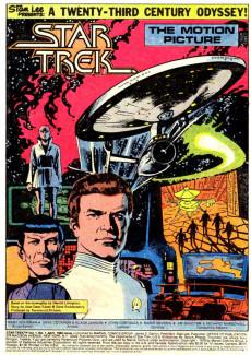 Extrait de Star Trek (1980) (Marvel comics) -1- A 23th Century Odyssey Today!