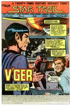 Extrait de Star Trek (1980) (Marvel comics) -2- The Vengeance of V`ger!