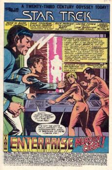 Extrait de Star Trek (1980) (Marvel comics) -6- Impossible!!
