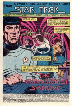 Extrait de Star Trek (1980) (Marvel comics) -8- (sans titre)