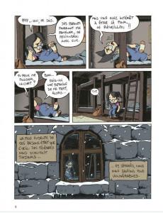Extrait de Le collège noir -3- Le livre de l'hiver
